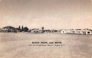 Block Hotel & Motel Angola, New York