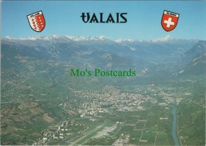 Switzerland Postcard - La Ville De Sion, Valais   RRR1204