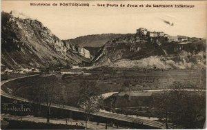 CPA Env. De PONTARLIER - Les Forts de Joux et du Larmont Inférieur (131223)