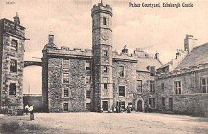 Palace Courtyard Edinburgh Castle Scotland, UK Unused