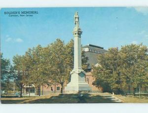 Unused Pre-1980 MONUMENT SCENE Camden - Near Cherry Hill New Jersey NJ F1559-12
