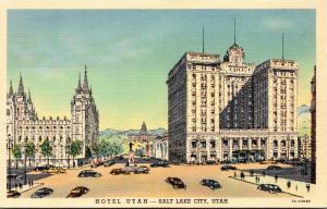 Utah Salt Lake City Hotel Utah Curteich