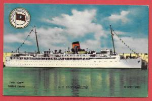 Ship - SS Evangeline used from Haiti