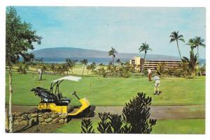 Hawaii Kaanapali Beach Hotel Golf Course Maui Vtg Postcard
