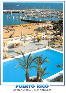 Puerto Rico Gran Canaria Islas Canarias Swimming Pool Harbour Port