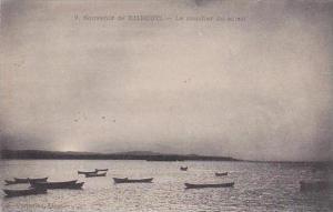 Djibouti Le coucher de soleil 1917