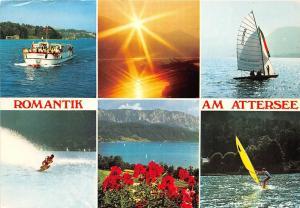 GG0914 romantik am attersee ship bateaux    austria