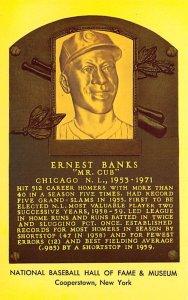 Ernest Banks Cooperstown, New York, USA Baseball Unused