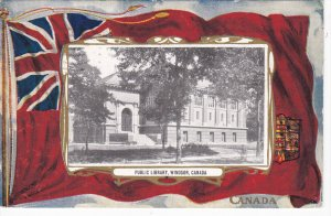 Public Library, WINDSOR , Ontario, Canada , PU-1910