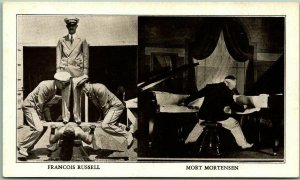 1934 Chicago Expo Postcard Ripley's ODDITORIUM Francois Russell / Mort Mortenson