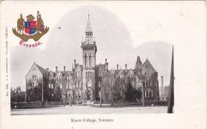 Know College & Coat of Arms, Toronto, Ontario, Canada, 10-20s