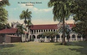 HONOLULU , Hawaii , 1900-10s ; St Andrew's Priory School