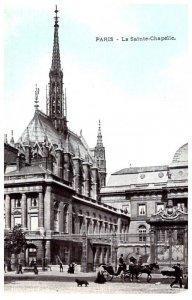 France Paris  La Sainte Chapelle