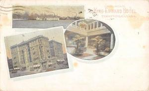 Toronto Canada King Edward Hotel Multiview Antique Postcard K86862