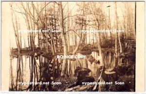 Hunting Scene, PM Sandy Creek NY