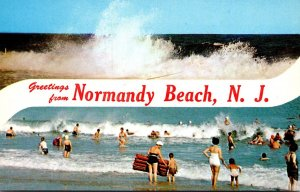 New Jersey Greetings From Normandy Beach
