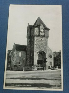 Vintage Postcard War Memorial Galashiels Selkirkshire  G1G