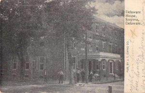 Smyrna Delaware Delaware House Vintage Postcard AA17205