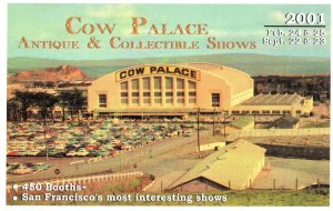 Cow Palace San Fransisco Exhibition 2001 Advertising Postcard