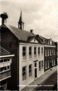 CPA Leerdam, Gemeentehuis met Ooievaarsnest. NETHERLANDS (714001)