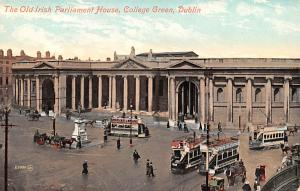 Dublin Ireland Old Irish Parliament House, College Green Dublin Old Irish Par...