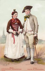 Local Couple , VALAIS ,  Switzerland , 00-10s