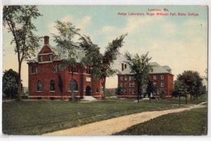 Hedge Lab & Roger Williams Hall, Bates College, Lewiston ME