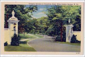 Greenbrier Hotel, White Sulphur Springs WV