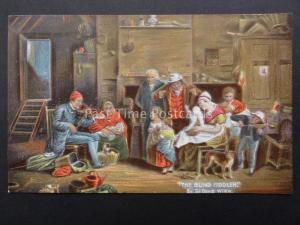 THE BLIND FIDDLER Artist David Wilkie c1908 by Misch & Stock GREAT MASTERS 249