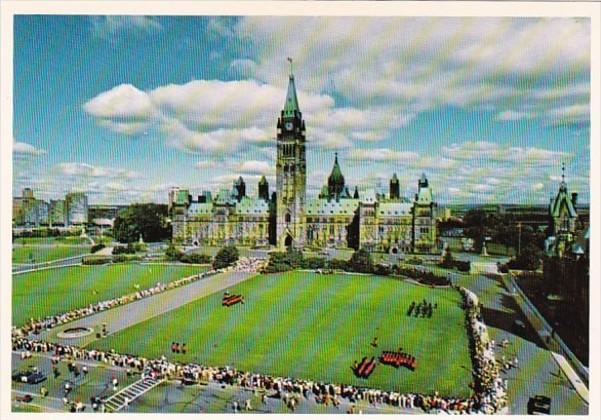 Canada Ottawa Centre Block Of The Parliament Buildings 1989