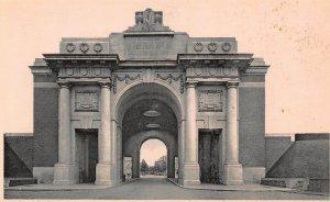 Belgium Ypres Porte de Menin Memorial des Heros Britanniques Postcard