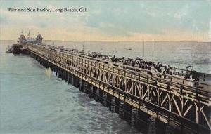 California Long Beach Pier &  Sun Parlor
