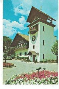 Glockenspiel Tower 1978 Frankenmuth Bavarian Inn Town Clock I-75 Pied Piper