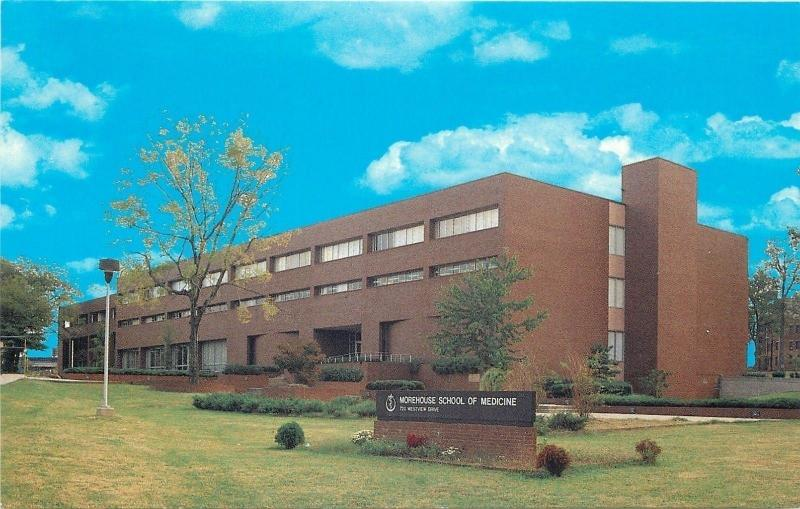 Atlanta Georgia~Morehouse School of Medicine~1970s Postcard