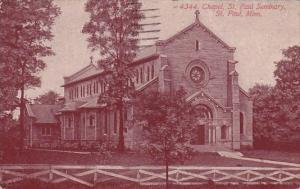 Minnesota Saint Paul Chapel Saint Paul Seminary 1952