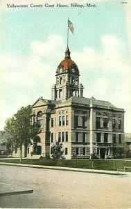 MT, Billings, Montana, County Court House, Wonder Store No. 14882