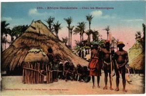 CPA Senegal Fortier 234. Afrique Occidentale-Chez les Mankaignes (235184)