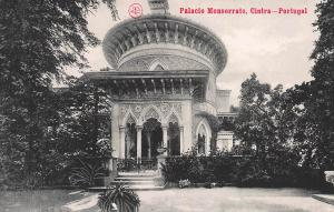 Monserrate Palace, Sintra, Portugal, Early Postcard, Unused