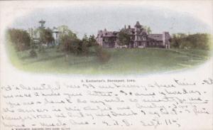Iowa Davenport Saint Katherine's 1908