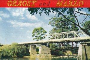 Orbost & Marlo Australian Folding Postcard Book