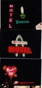 RP: Las Vegas , Nevada , 16 Neon Light Photographs 70-80s