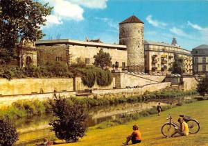 Hannover Hohes Ufer mit Beginenturm Tower River Bicycle