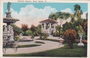 Illinois Rock Island Spencer Square