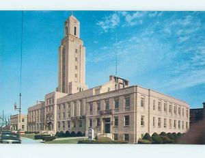 Unused Pre-1980 CITY HALL SCENE Pawtucket Rhode Island RI hs5773-13
