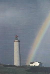 GASPE , QUEBEC, Canada, PU-1989; Phare De Cap Des Rosiers, Light House