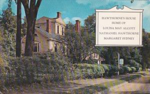 Massachusetts Concord Hawthorne's House Wayside Inn