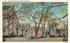 Bryn Mawr College, Bryn Mawr, Pennsylvania, Early Postcard, Unused