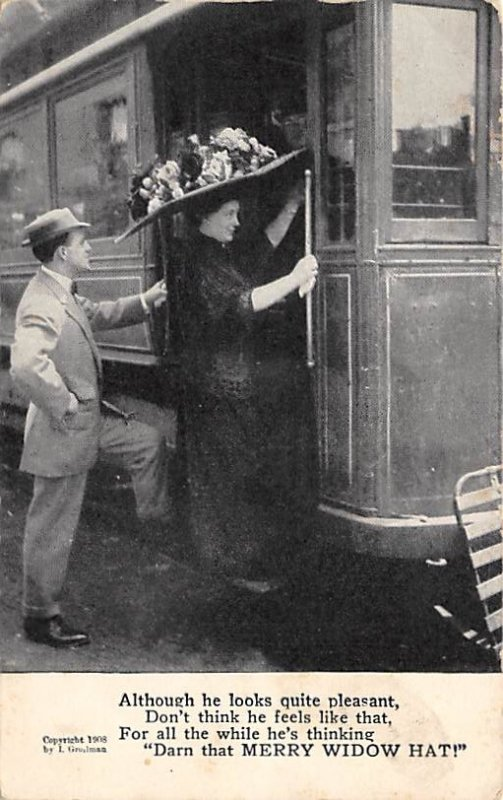 Merry Widow Hat 1908