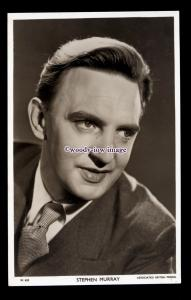b6268 - Film Actor - Stephen Murray, Picturegoer Series. No.W.625 - postcard