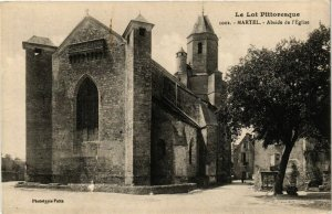 CPA Le Lot Pittoresque - MARTEL - Abside de l'Église (223537)